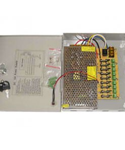 12V DC 10A Regulated Power Supply for CCTV System
