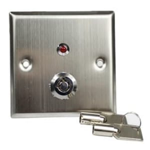 Door release keyswitch, External Lock Override