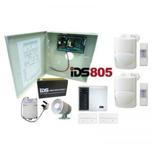 IDS Intruder Alarm 805 panel 8 zone proftech