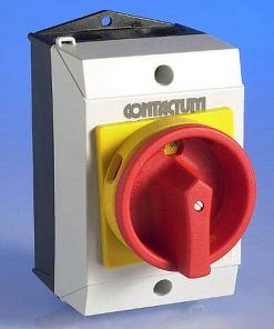 63 Amp TP&N Rotary Switch Insulated Weatherproof - IP65