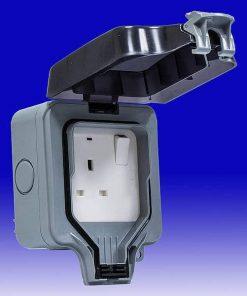 Electrical Water proof 13 amp Single Socket IP65