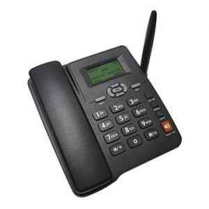 GSM 6588 Fixed Wireless Phone with SIM Card Slot