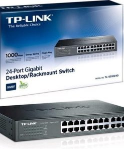 24-Port Gigabit Rackmount Switch-TL-SG1024