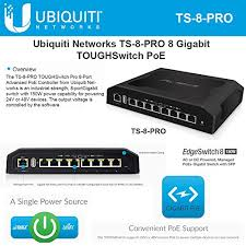 Ubiquiti 8 Port Gigabit Switch