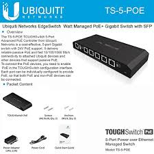 Ubiquiti Toughswitch Port 5 POE