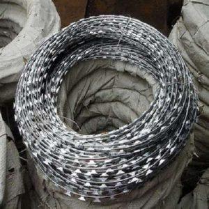 450mm Double Galvanized Razor Wire proftech