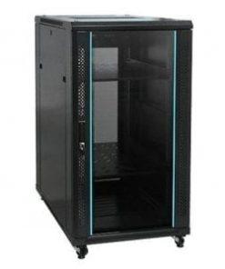 22U Data cabinets 600 x 1000. Glass Door