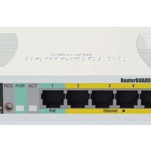 Mikrotik RB260GSP 5 Gigabit Ethernet Ports Switch