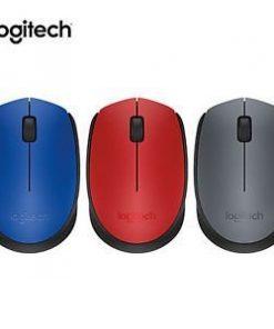 M171 Logitech Wireless Mouse (Black/ Blue/ Red)
